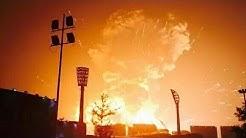 Gewaltige Explosionen in Gefahrgutlager: Über ein Dutzend Tote in Großstadt Tianjin