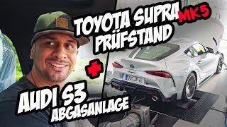 JP Performance - Toyota Supra MK5 Prüfstand + Audi S3 Remus Abgasanlage