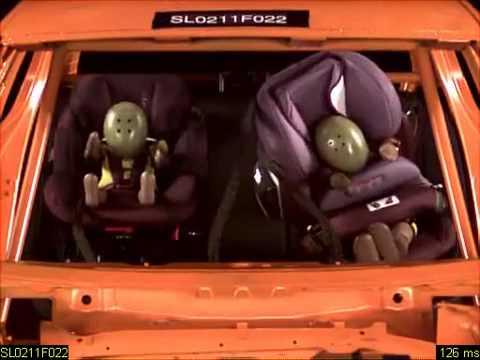 cybex pallas 2 fix adac 2011 crash test 2 youtube. Black Bedroom Furniture Sets. Home Design Ideas