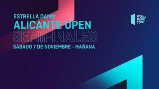 Semifinales Mañana - Estrella Damm Alicante Open  2020  - World Padel Tour
