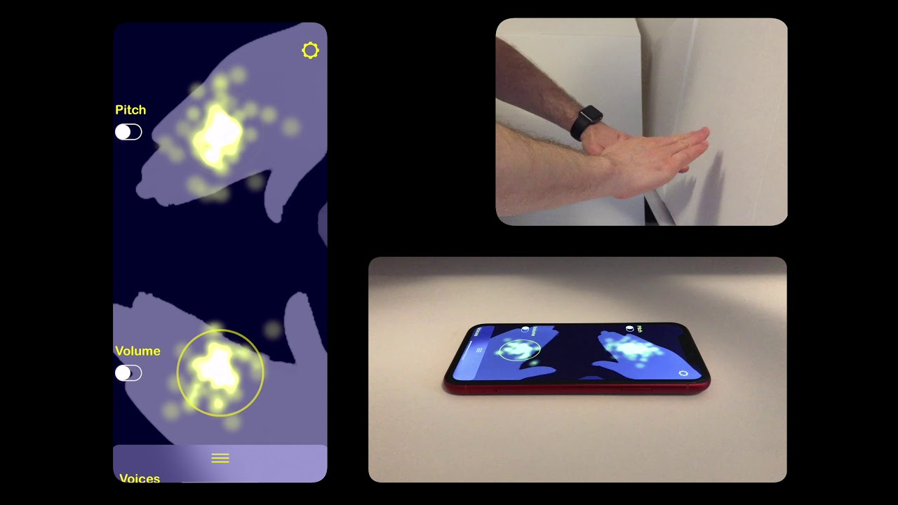 AirSynth - Music at your finger-tips