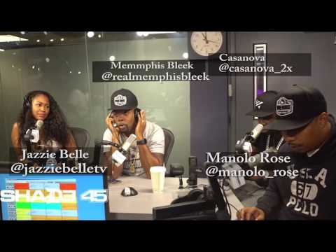 Dj Kayslay Interviews Memphis Bleek /Manolo Rose & Casanova on Shade45 SiriusXM Streetsweeper Radio
