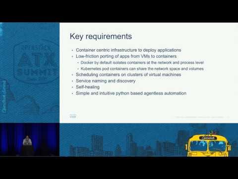 Kubernetes Automation on OpenStack Using Ansible