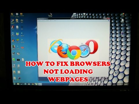 how to fix- internet working but browser not working