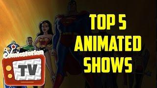 Top 5 DC Animated Superhero Shows