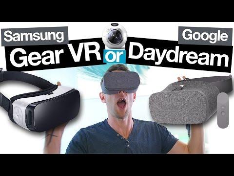 Samsung Gear VR vs Google Daydream View: Best Smartphone VR Headset?