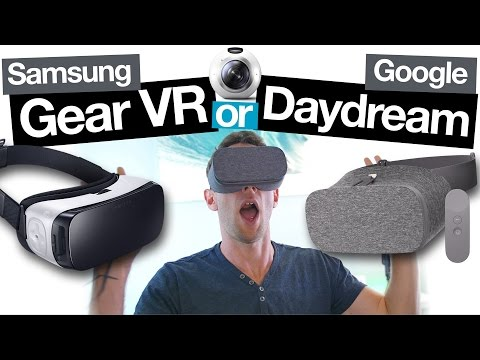 Samsung Gear VR vs Google Daydream View: Best Smartphone VR Headset?