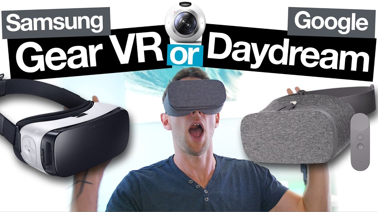 Samsung Gear VR vs Google Daydream View: Best Smartphone ...