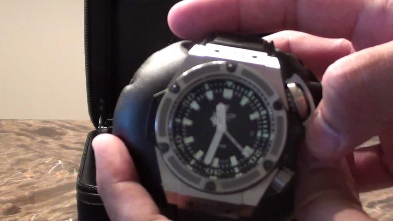 155c9e37a75 Hublot King Power Oceanographic 4000 Diver Watch 48mm Limited Edition  Authentic Review (O4000) - YouTube