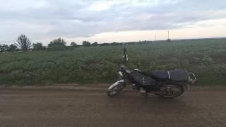 VLOG Покатушки на мопеде Delta, быстрые собаки, природа Украины