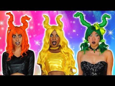 THE SUPER POPS MAGIC HAIR HACKS. Totally TV Originals