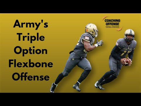 Breaking Down The Army Flexbone Triple Option Offense