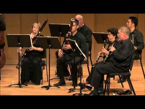 UNT Faculty Woodwinds: Mozart Serenade No. 10 in B-flat Major
