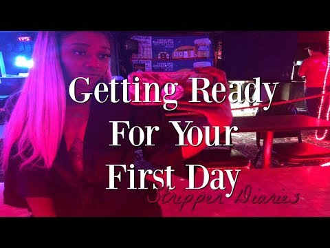 How To Be A Stripper (Your First Day)// STRIPPER DIARIES