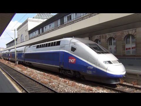 Trains around Heidelberg and Frankfurt Germany 5/21/2015
