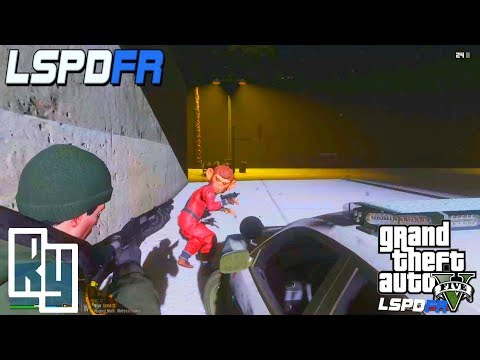 "GTA 5: LSPDFR Snow Patrol ""Monkeys with Guns"""