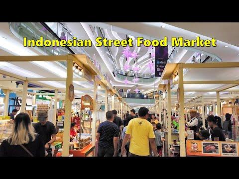 INDONESIAN STREET FOOD Pop-Up Market at LIPPO MALL Puri, Jakarta Indonesia
