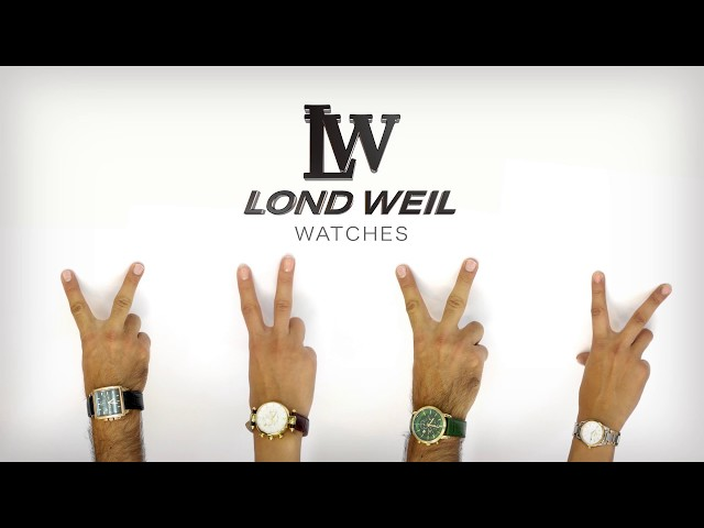 LOND WEIL Watches TV Commercial by Yannis Zand