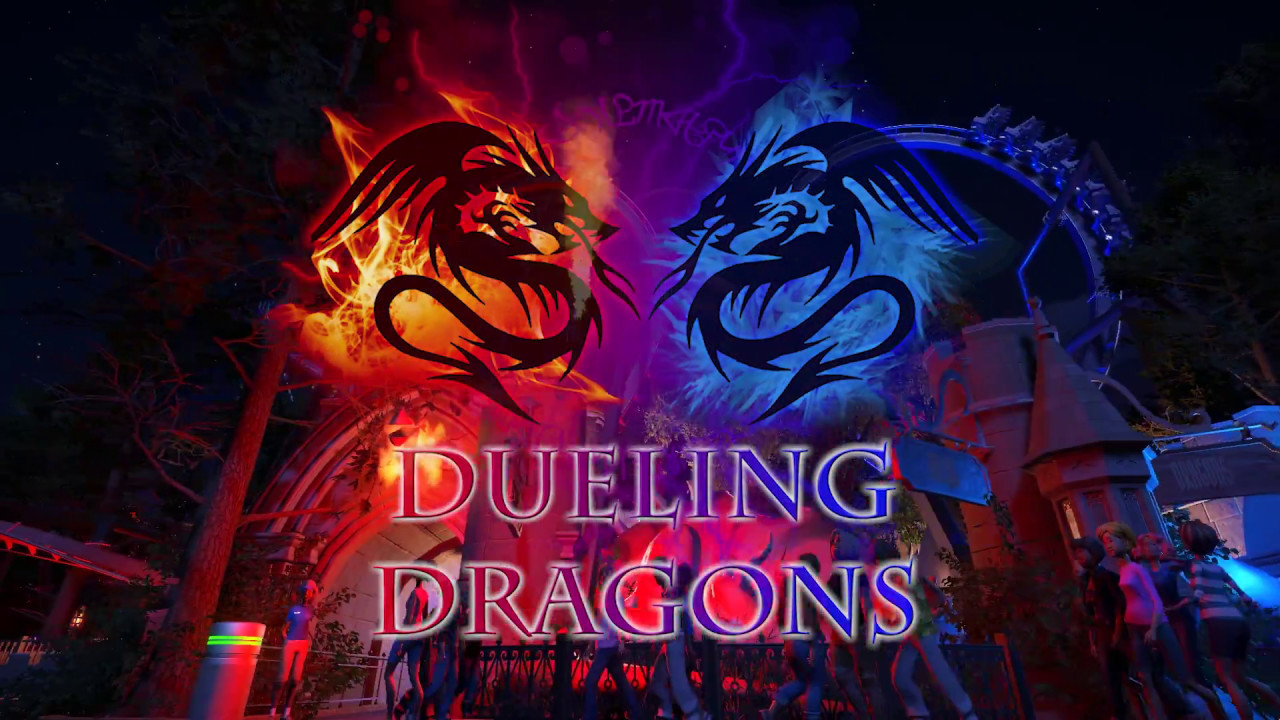Dueling dragons make a mess