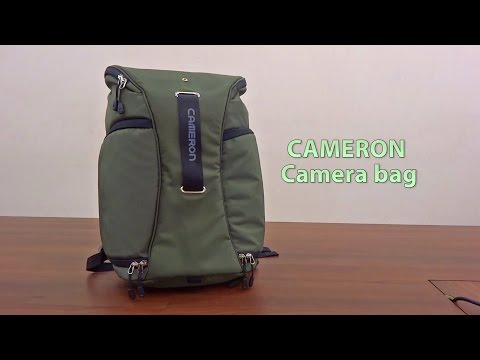 Camera Bag With Lens Organiser