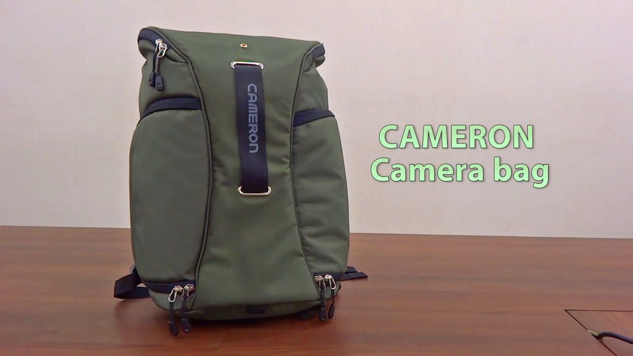 Cameron Camera Bag The Best With Lens Organiser