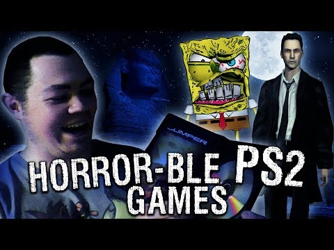 HORROR-BLE PS2 GAMES! - Game Testing Halloween Special