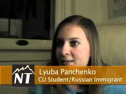 Russian immigrant shares her story of becoming a citizen