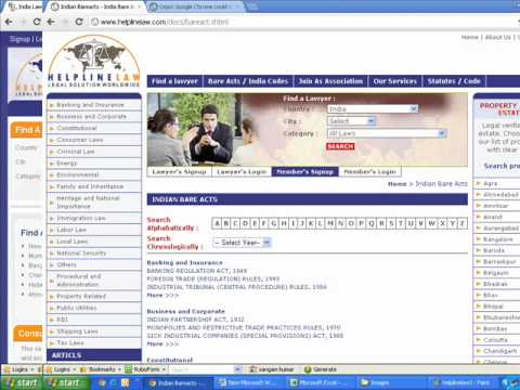 India Lawyers - India Law/Indian Lawyer, Online Legal Solutions of India Law Firm Lawyers
