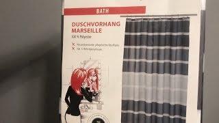 Baixar МояРаспаковка: Занавеска для ванной Axentia Marseille Schwarz из Rozetka