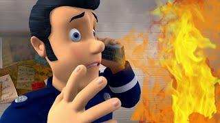 Feuerwehrmann Sam ⭐️ Feuer in der Bahnhofsküche! 🔥 Neue Folgen | Zeichentrick für Kinder