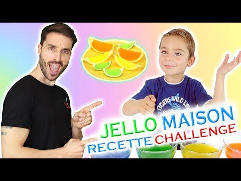 RECETTE JELLO MAISON CHALLENGE SWAN THE VOICE