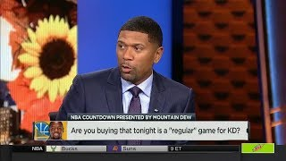 """Is it a """"Regular Game"""" For Kevin Durant vs Thunder tonight? 