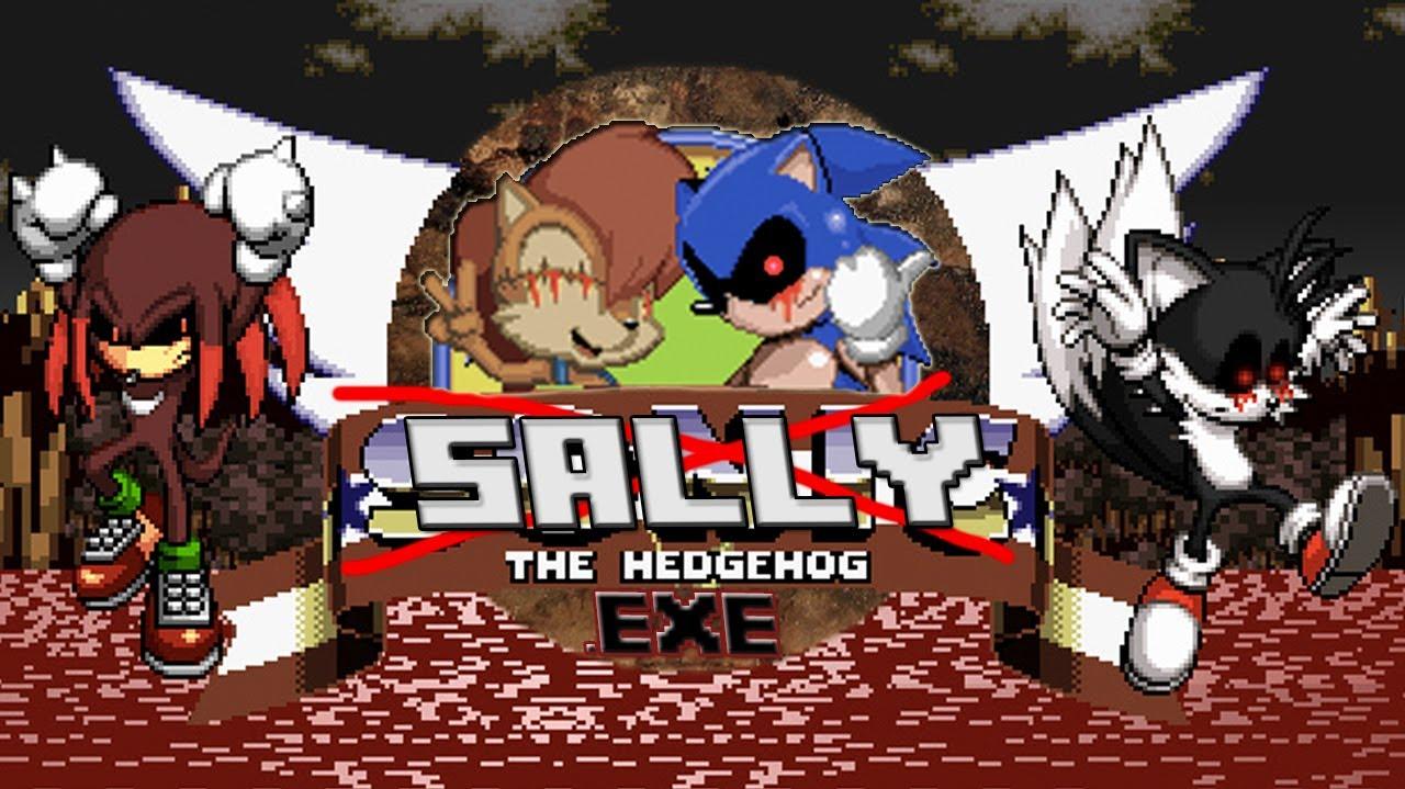 Sally Exe Sonic Exe Sequel Creepypasta Gaming Youtube