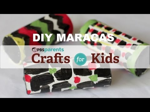 DIY Cardboard Maracas | Crafts for Kids | PBS Parents