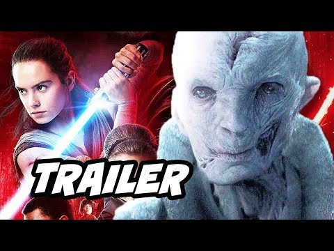 Thumbnail: Star Wars The Last Jedi Trailer - Rey and Snoke Theory