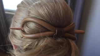 Flexi Clips, you Pins, and Hair sticks, oh my!