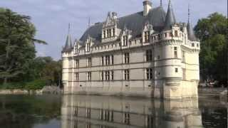 France: Loire - Aze le Rideau. Франция: Долина Луары - Азе-ле-Ридо(My video. 9'2012. Автобусный тур