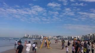 Esquadrilha da Fumaça - Praia de Pitangueiras, Guarujá-SP