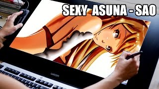 Sexy Asuna SAO - SPEED DRAW