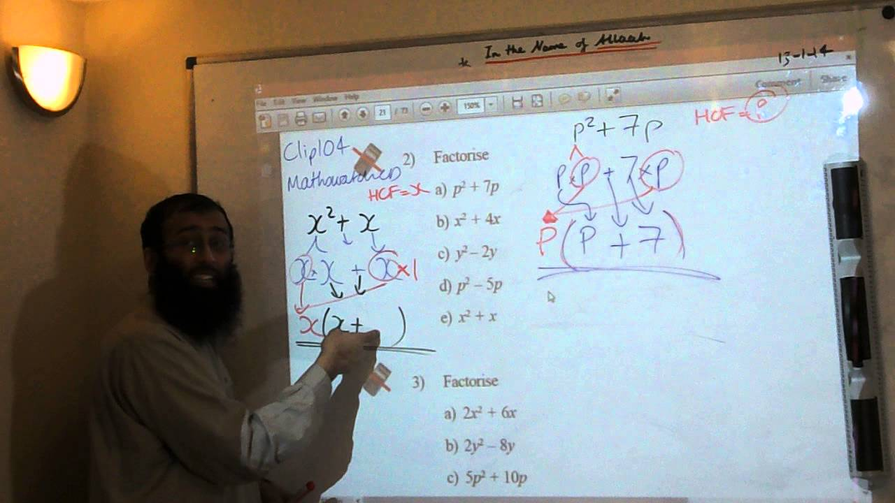 Watch on Solving Equations Grade 9