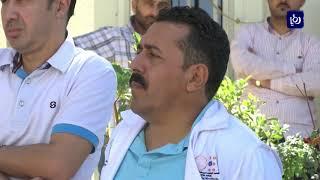 الأطباء يعتصمون أمام المجلس الطبي الأردني - (27-9-2018)