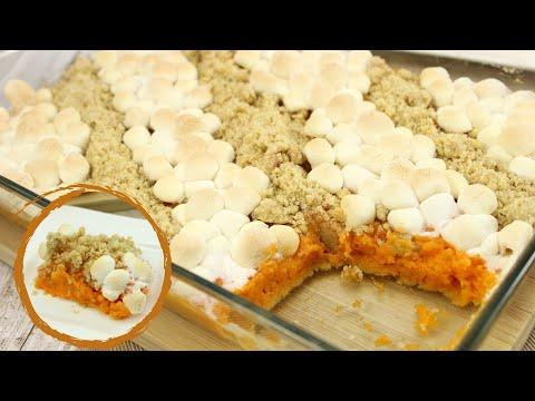 Süßkartoffel-Auflauf (Sweet Potato Casserole)