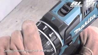 Makita nos presenta el taladro atornillador y taladro combinado a batería de 4 0 Ah