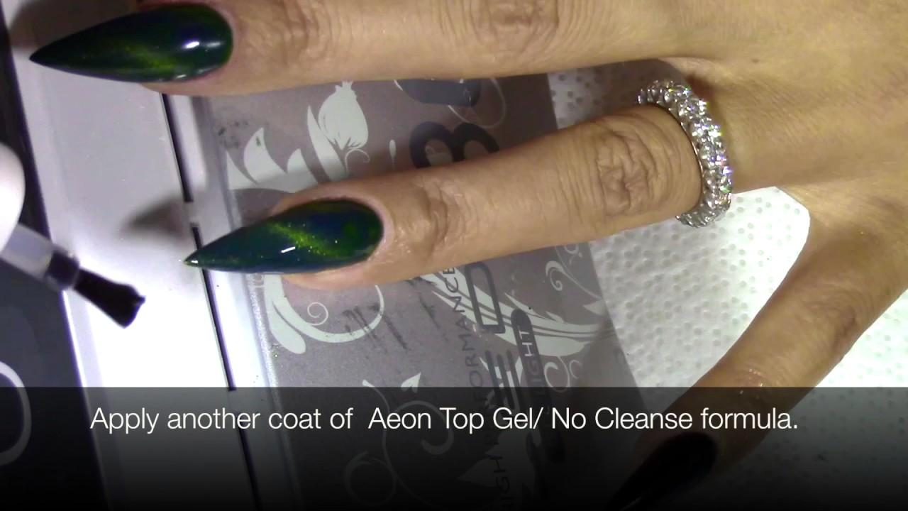 Geode Nail Designs Aeon Dragon Eye Gel Medicool Florida