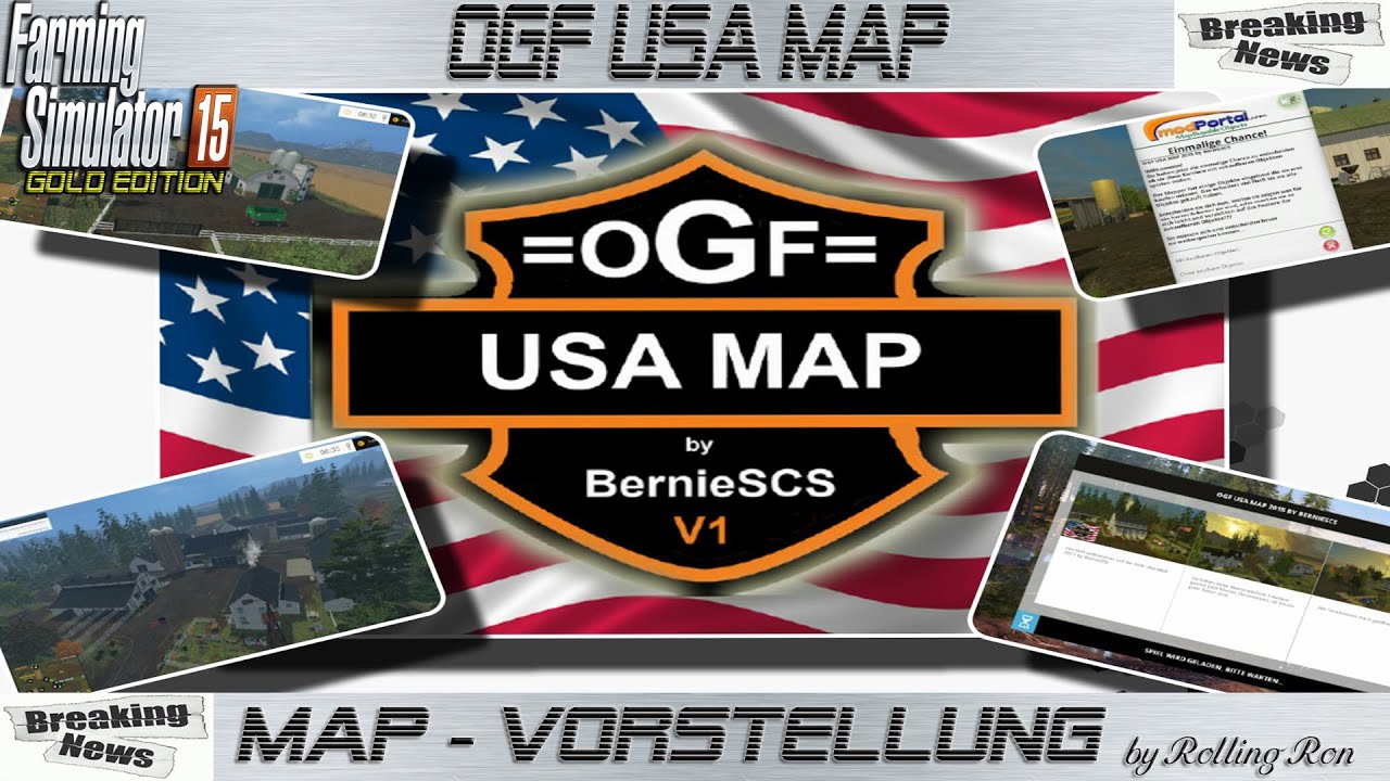 LS GoldMod Map Vorstellung OGF USA YouTube - Southern norway map ls15