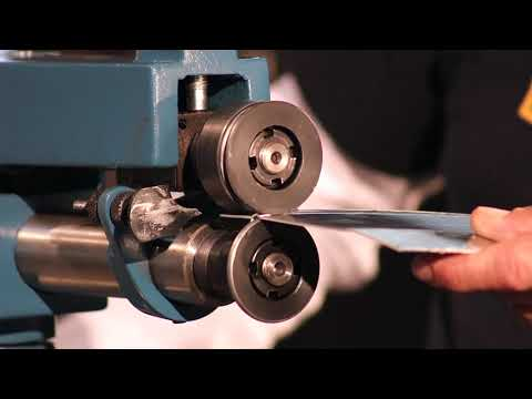 Baileigh BR-22 HVAC Rotary Machine Bead Rolling Roller