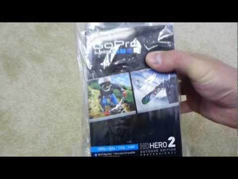 GoPro HD Hero 2 Outdoor Edition Unboxing
