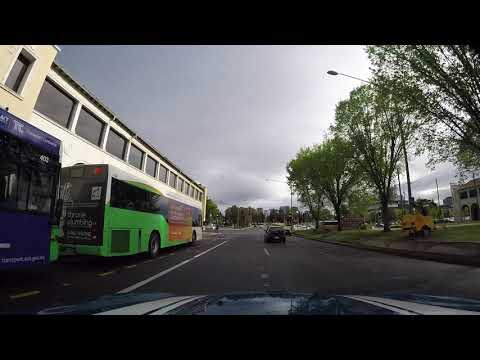 Bad Driver in Canberra ACT Australia HD 08  Nov 2017