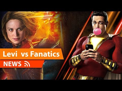 Zachary Levi Slams Fanatics attacking Captain Marvel, Brie Larson & MCU