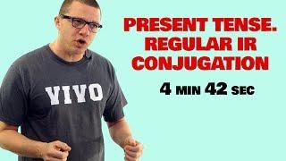 present tense regular ir verb conjugation
